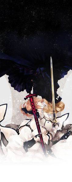 Tags: Fanart, Fate/stay night, Saber, Pixiv, Saber Lily, Saber Alter, Fanart From Pixiv, Prince-hotbuns