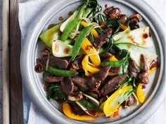 Give your stir fry a sweet and sour edge with a dash of plum sauce.This recipe…
