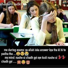 I don't think So. I don't think so. Exams Funny, Funny School Jokes, Some Funny Jokes, Crazy Funny Memes, School Humor, Funny Facts, Funny Stuff, Hilarious, Girly Attitude Quotes