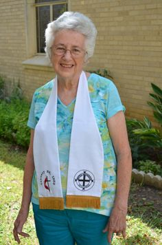 Wilma Reindhart - 50 years serving the United Methodist Church.