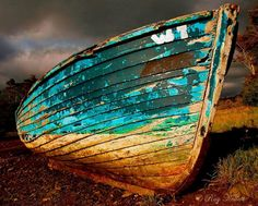 Left to decay- The sunlight on the boat caught my eye while driving past this Mayo shoreline by Ray Kellett Photography