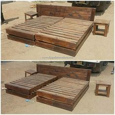 Exquisite DIY Projects Made with Shipping Pallets - DIY Pallet Projects