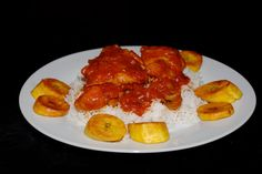 Ingredients: 1 large chicken cut into 12 pieces Fresh scotch bonnet chilies, to taste  1lb fresh tomatoes, chopped 4 large onions, chopped 2 cloves fresh garlic, minced 8 ounces tomato puree 1 teaspoon thyme 2 teaspoon partminger leaves (note: I used dried basil) 1 teaspoon curry powder 1-2 cups of chicken stock made with Maggi cubes (add as necessary to create a thick smooth sauce) groundnut oil for frying (note: I used vegetable oil)  Note: Ozoz has been adding dry roasted crushed cumin…