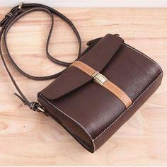 Genuine Leather Handmade Handbag Crossbody Bag Shoulder Bag | Evergiftz Leather Bum Bags, Leather Art, Leather Luggage, Leather Crossbody Bag, Leather Shoulder Bag, Leather Handbags, Crossbody Bags, Shoulder Bags, Handmade Handbags