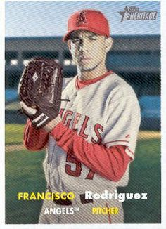 2006 Topps Heritage Baseball #207 Francisco Rodriguez MLB Trading Card by Topps Heritage. $1.99. 2006 Topps Co. trading card in near mint/mint condition, authenticated by Topps Collectibles