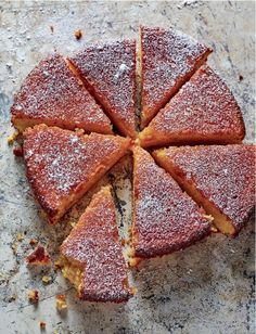 Rick Stein's Clementine, Almond and Olive Oil Cake from his cookbook The Road to Mexico is a celebration of Californian citrus fruits. This refreshingly light yet moist olive oil cake is made with two whole clementines and ground almonds before being driz Cupcakes, Cupcake Cakes, Baking Recipes, Cake Recipes, Dessert Recipes, Roast Recipes, Oven Recipes, Crockpot Recipes, Recipies