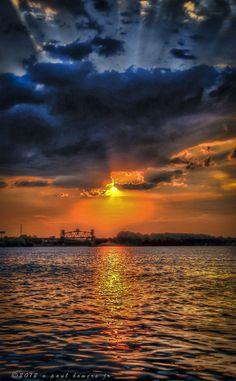 Sunset, Louisville, Kentucky
