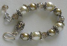 Maidenhair Handmade Beaded Bracelet