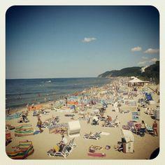 Photo by aridka • Instagram - Plaża w Międzyzdrojach