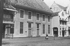 Batavia - Colonial facades along the Kali Besar West, Batavia (1936)