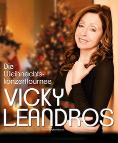 """Vicky Leandros - Die Weihnachtskonzert-Tournee 2013 - """"Ein Herz für Kinder"""" - Tickets unter: www.semmel.de"""
