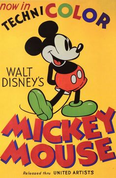 Mickey Mouse...  One of the World's Biggest Stars.