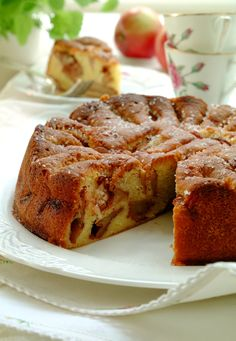 best apple cake ever! Norwegian Food, Danish Food, Apple Cake, Cookie Desserts, Cakes And More, Let Them Eat Cake, Cake Cookies, Yummy Treats, Banana Bread