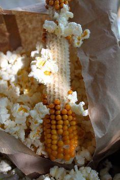 Popped Corn on the Cob