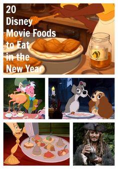 20 Disney Movie Foods to Eat in 2014