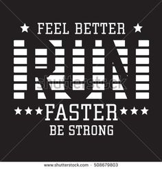 Athletic sport run typography, t-shirt graphics, vectors