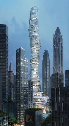 Amazing Snaps: Urban Forest Sky Scraper for China | See more