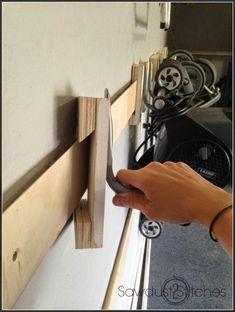 Easy diy – Garage Storage! #cluttergarage