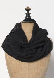 Cozy Black Zip Wrap -  tinafiet.noondaycollection.com