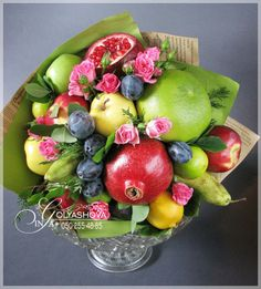 Gallery.ru / Фото #59 - Букеты из овощей и фруктов - nekto1