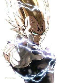 Dragon ball z Dragon Ball Gt, Majin Tattoo, Dragonball Anime, Z Arts, Animes Wallpapers, Anime Art, Avengers, Character Art, Comic Art