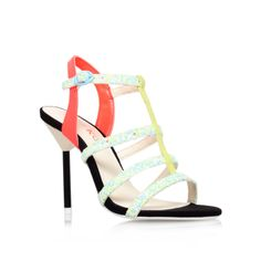 elvie, multi-coloured shoe by miss kg - women shoes occasion
