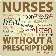 On the lighter side of nursing.