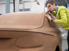 BMW 2 Series Coupe - Tape on Clay Model