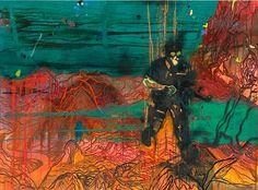 """Daniel Richter, """"WOW"""", 2011"""