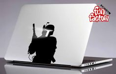 Boba Fett Star Wars Macbook Decal Sticker 0080mac by FunDecalFactory on Etsy