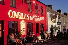 O'Neill's Pub, Allihies, Beara Peninsula, Ireland.  Oh what fun was had by all, including the mayor!