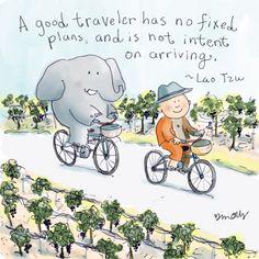 Buddha Doodle: A Good Traveler