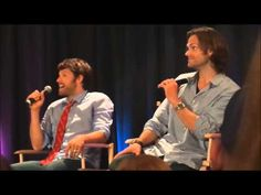 Aimee N on YouTube - Favourite SPN Convention Moments (2 parts)