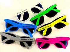 Personalized Sunglasses Wedding Favor  Wedding Sunglasses