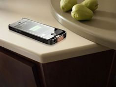 Wirelessly charge your device on DuPont Corian tabletops