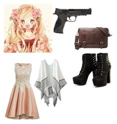 """""""Berlin (May-Belle Beilschmidt)"""" by sopar-not-sober ❤ liked on Polyvore featuring Smith & Wesson and FOSSIL"""