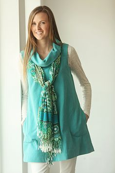 A perfect spring dress - Indygo Junction's Urban Tunic pattern ($9.99)