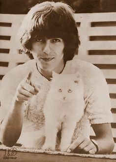 I found this website with cute guys and cats. I think I might just marry a webpage. >.<  George, George, George. ((: