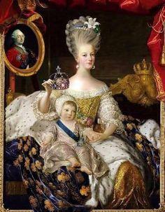Marie- Antoinette & le dauphin
