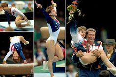 Kerri Strug...A true person of perseverance, she landed her vault on a broken ankle getting Team USA the gold