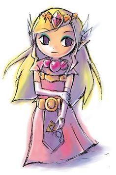 The Legend of Zelda, Toon Princess Zelda