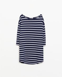 ZARA - NEW THIS WEEK - ORGANIC COTTON STRIPED DRESS