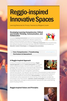 Reggio-inspired Innovative Spaces Learning Resources for Primary Teachers by Margaret Lincoln