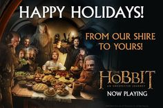 Merry Christmas from my Shire to yours!