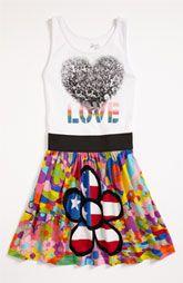 Flowers By Zoe Sleeveless Dress (Big Girls)