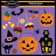 Halloween Clip Art! #clipart #halloween