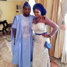 Davido's elder sister Coco Adewale and her fiance Caleb are getting married traditionally today. See some of the fabulous and colorful photos from the ongoing event below...