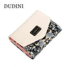5.98$  Watch now - http://alivbf.shopchina.info/go.php?t=32549172762 - DUDINI New Arrived Flowers Printing Wallet Fashion Hit Color Clutch Purse Ladies Coin And Money Card Holder 5.98$ #buychinaproducts