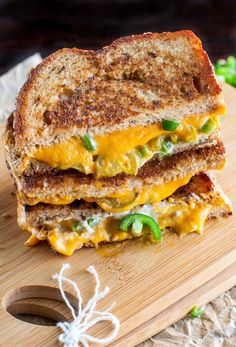 Vegan cheese is the best thing since sliced bread...especially when it's melted between sliced bread. Get the recipe.