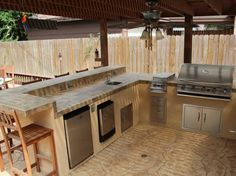 Outdoor Kitchens Design 214